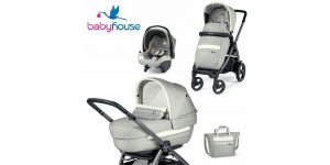 Peg Perego Trio Book 51S Elite Modular Luxe Pure