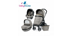 Peg Perego Trio Book 51 Elite Modular 2018 Luxe Grey