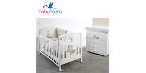 Baby Italia Set Lettino e Bagnetto Mickey Baby House