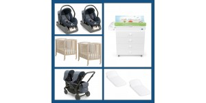Set Convenienza Gemellare Baby House